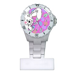 Easter bunny  Plastic Nurses Watch