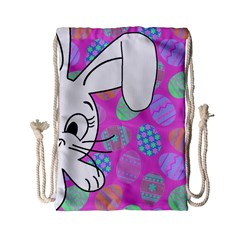 Easter bunny  Drawstring Bag (Small)