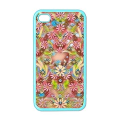 Jungle Life And Paradise Apples Apple iPhone 4 Case (Color)