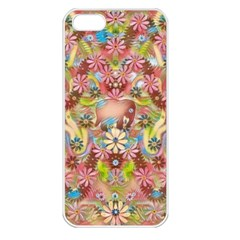 Jungle Life And Paradise Apples Apple Iphone 5 Seamless Case (white)