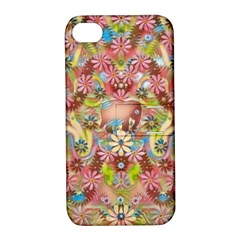 Jungle Life And Paradise Apples Apple iPhone 4/4S Hardshell Case with Stand