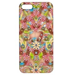 Jungle Life And Paradise Apples Apple iPhone 5 Hardshell Case with Stand