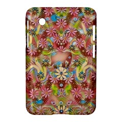 Jungle Life And Paradise Apples Samsung Galaxy Tab 2 (7 ) P3100 Hardshell Case