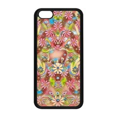 Jungle Life And Paradise Apples Apple iPhone 5C Seamless Case (Black)