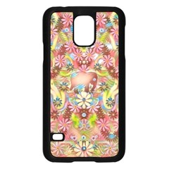 Jungle Life And Paradise Apples Samsung Galaxy S5 Case (Black)