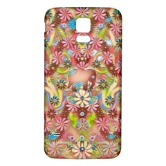 Jungle Life And Paradise Apples Samsung Galaxy S5 Back Case (White)