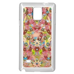 Jungle Life And Paradise Apples Samsung Galaxy Note 4 Case (White)
