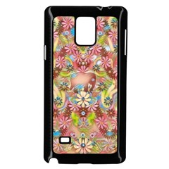 Jungle Life And Paradise Apples Samsung Galaxy Note 4 Case (black)
