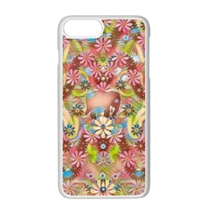Jungle Life And Paradise Apples Apple iPhone 7 Plus White Seamless Case
