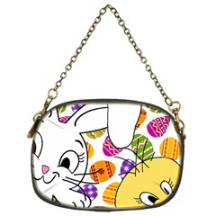 Easter bunny and chick  Chain Purses (One Side)