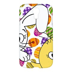 Easter bunny and chick  Samsung Galaxy S4 I9500/I9505 Hardshell Case