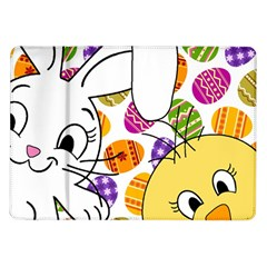 Easter bunny and chick  Samsung Galaxy Tab 10.1  P7500 Flip Case