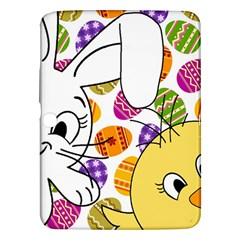 Easter Bunny And Chick  Samsung Galaxy Tab 3 (10 1 ) P5200 Hardshell Case