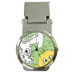 Easter bunny and chick  Money Clip Watches