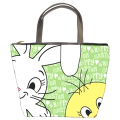 Easter bunny and chick  Bucket Bags