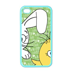 Easter bunny and chick  Apple iPhone 4 Case (Color)