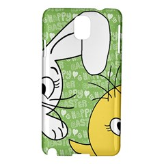 Easter bunny and chick  Samsung Galaxy Note 3 N9005 Hardshell Case