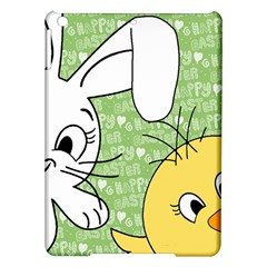 Easter bunny and chick  iPad Air Hardshell Cases