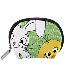 Easter bunny and chick  Accessory Pouches (Small)