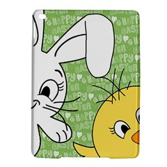Easter bunny and chick  iPad Air 2 Hardshell Cases