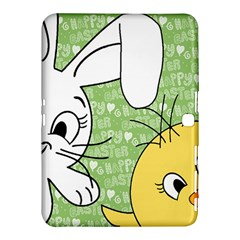 Easter bunny and chick  Samsung Galaxy Tab 4 (10.1 ) Hardshell Case
