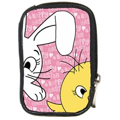 Easter bunny and chick  Compact Camera Cases