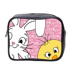 Easter bunny and chick  Mini Toiletries Bag 2-Side