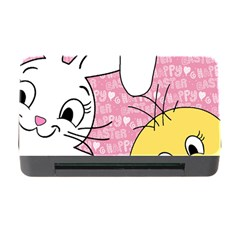 Easter bunny and chick  Memory Card Reader with CF