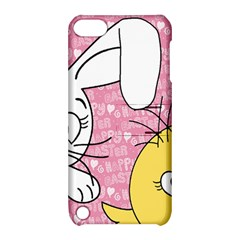 Easter bunny and chick  Apple iPod Touch 5 Hardshell Case with Stand