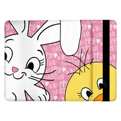 Easter bunny and chick  Samsung Galaxy Tab Pro 12.2  Flip Case