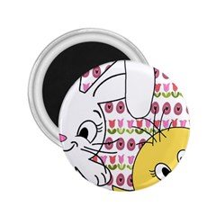 Easter bunny and chick  2.25  Magnets