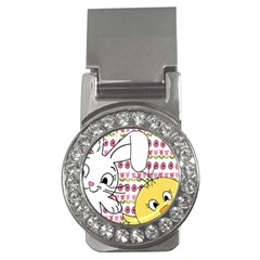 Easter bunny and chick  Money Clips (CZ)