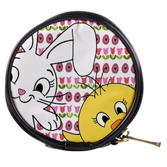 Easter bunny and chick  Mini Makeup Bags