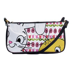 Easter bunny and chick  Shoulder Clutch Bags