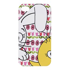 Easter bunny and chick  Apple iPhone 4/4S Hardshell Case