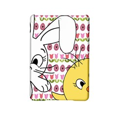 Easter bunny and chick  iPad Mini 2 Hardshell Cases