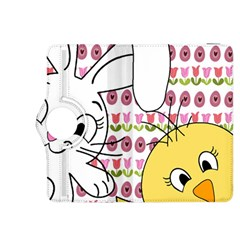 Easter bunny and chick  Kindle Fire HDX 8.9  Flip 360 Case