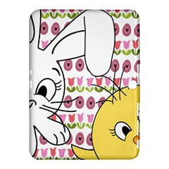 Easter Bunny And Chick  Samsung Galaxy Tab 4 (10 1 ) Hardshell Case