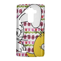Easter bunny and chick  LG G4 Hardshell Case