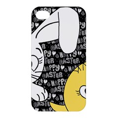Easter bunny and chick  Apple iPhone 4/4S Premium Hardshell Case