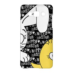 Easter bunny and chick  Samsung Galaxy A5 Hardshell Case