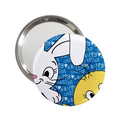 Easter bunny and chick  2.25  Handbag Mirrors