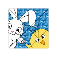 Easter bunny and chick  Acrylic Tangram Puzzle (4  x 4 )