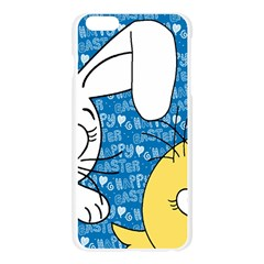 Easter bunny and chick  Apple Seamless iPhone 6 Plus/6S Plus Case (Transparent)