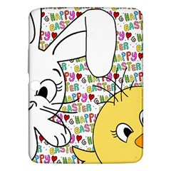 Easter bunny and chick  Samsung Galaxy Tab 3 (10.1 ) P5200 Hardshell Case