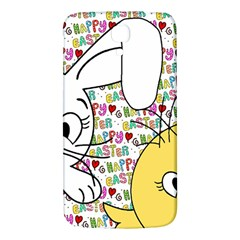 Easter bunny and chick  Samsung Galaxy Mega I9200 Hardshell Back Case