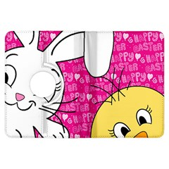 Easter bunny and chick  Kindle Fire HDX Flip 360 Case