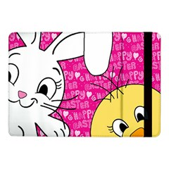 Easter bunny and chick  Samsung Galaxy Tab Pro 10.1  Flip Case