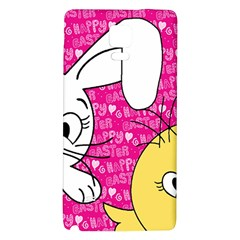 Easter bunny and chick  Galaxy Note 4 Back Case