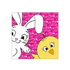 Easter bunny and chick  Satin Bandana Scarf